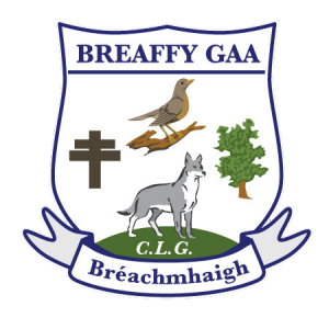 Breaffy GAA Club Development Crest